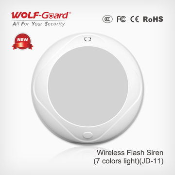 China Indoor Flash Siren spot Alarm With Siren and Flashing Light horns bell box
