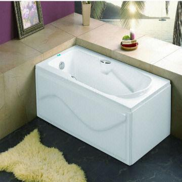 Wonderful China 2.2 135d Acrylic Double Apron Bathtub (soaking Bathtub)
