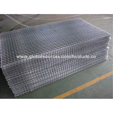 China 2x2 galvanized welded wire mesh, wire mesh panel