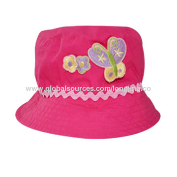 3d6a2d2c097af China Childred Gardening Bucket Cap Sun Protected Baby Hat on Global ...