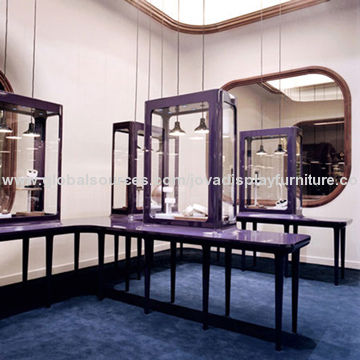 China Jewelry Store Furniture With Professional Interior Design Ideas For Shops