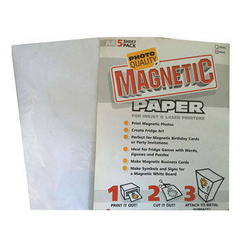 china white magnetic inkjet paper a4 on global sources