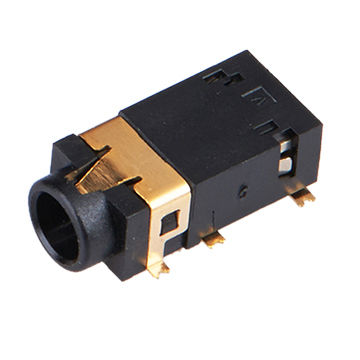 China 3.5mm Stereo Phone Jack Female Connector For SMT on Global SourcesGlobal Sources