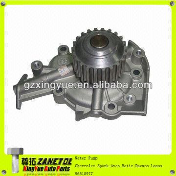 Car Auto Cooling System Water Pump For Chevrolet Spark Aveo Matiz