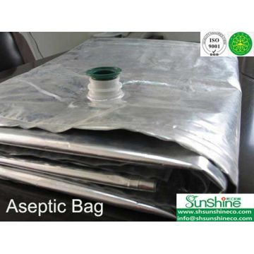 Aseptic Bags for tomato paste, mango puree, fruit juice
