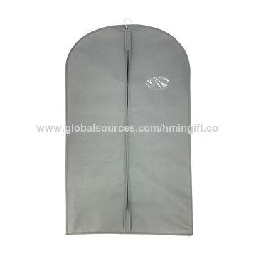31a8eaed0f China Custom Eco Black Dustproof Hanger Coat Clothes Garment Suit ...