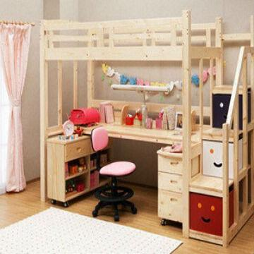 Amazing Bunk Bed With Study Table Bcd1600