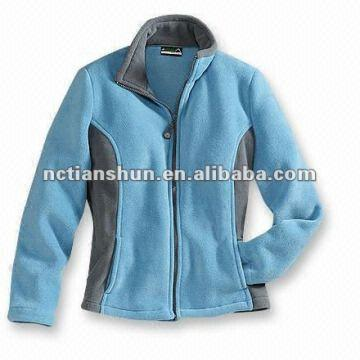 Ladies Fashion Design High Quality Zipper-up Women's Polar Fleece ...