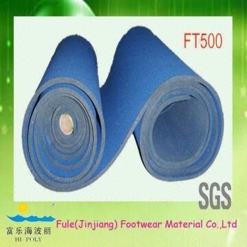 Flexible high density shoe insole material 1)foam for insoles 2)foam