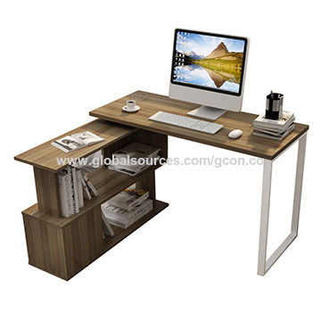 China Computer Desk,home Office Desk,l Shaped Rotatable ...
