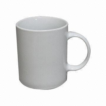 11oz white porcelain mug coffee mugs straight side cup mug coffee