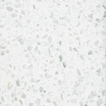 White Cristallo Vorona Quartz Countertop Global Sources