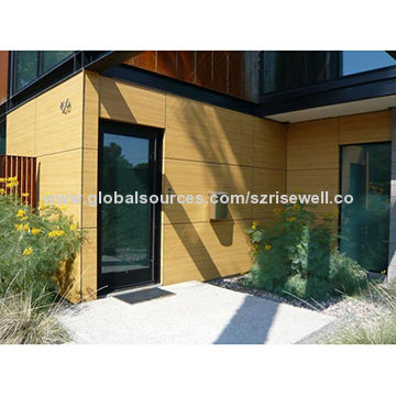 China Exterior Wall Cladding, Solid Phenolic Resin Fabric, Waterproof And  Fire Proof ...