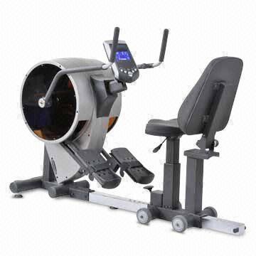 Dual Action Recumbent Elliptical Bike Rehabilitation Fitness For