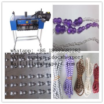 Plastic roller blinds curtain rosary string thread endless bottom