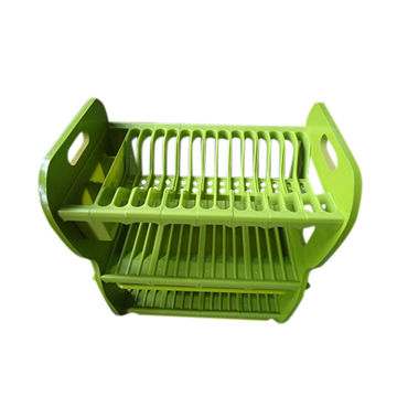 2014 plastic green kitchen dish drainer online global sources