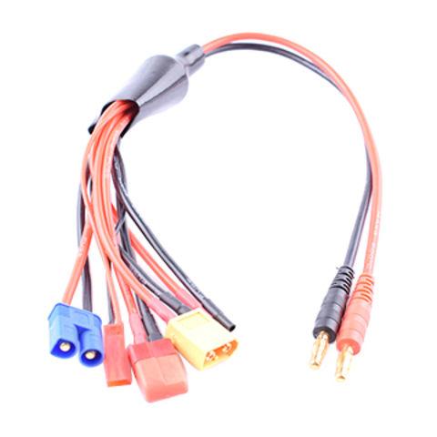China 5 multi en 1 cable multi del cargador de la batería de ... on