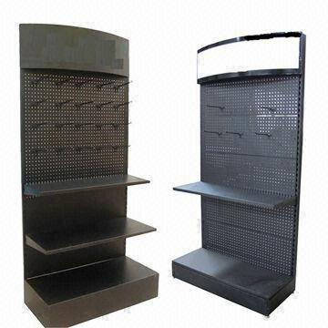 China Lubricating Oil Display Floor Shelves And Lube Rack Stand Made Of Metal