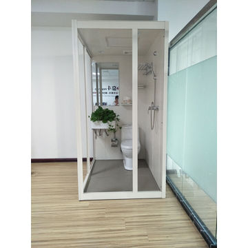 Elegant ... China SMC Morden Mobile With Shower Toilet All In One Prefabricated  Bathroom Pods ...