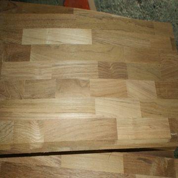 Teak finger joined panelswooden worktoplaminated worktopedge