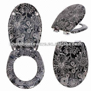 China Decorative Toilet Seat Cover