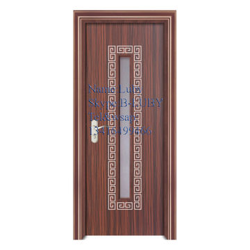 Hollow Core Wood Door Hot Transfer Fire Rated Door With High Quality