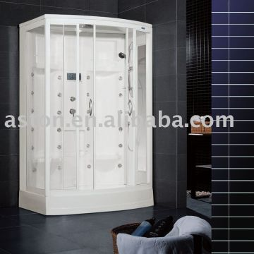 China Steam Cabinets   Recetor Hot Sale 2 Person Home Use Style Steam Sauna  Distinctive Shower