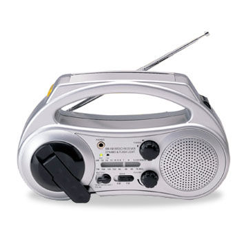 Dynamo Radio with Blinking Function, Available in OEM Orders