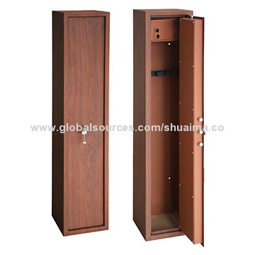 China Wood Color Gun Safes, Material Steel, Look Like A Furniture, Higher  Quality ...