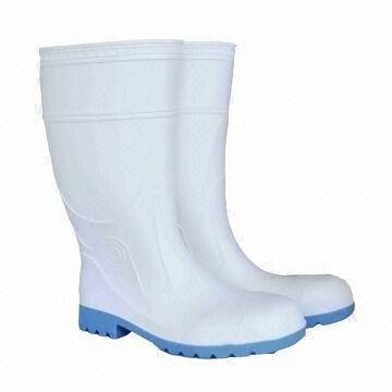Men's Safety Rain Boots with Steel Toe/Midsole, Made of PVC ...
