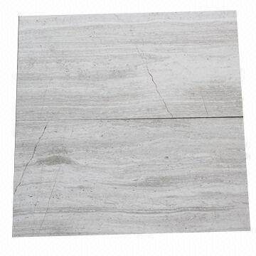 China Cl A Light Wood Grain Marble Tiles Measures 12 X 24 Inch