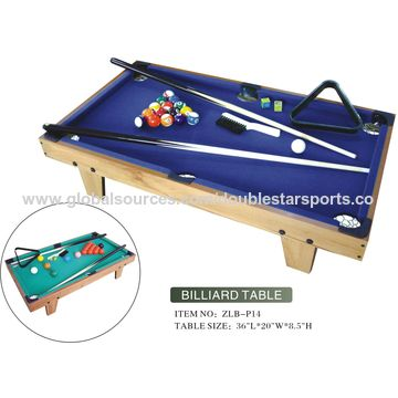China Pool Game Table From Guangzhou Manufacturer Huizhou Double - Big 5 pool table