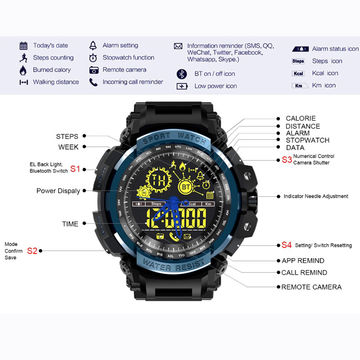 LEMFO LF21 Sport Tracker Smart Watch Fitness Tracker Hiking