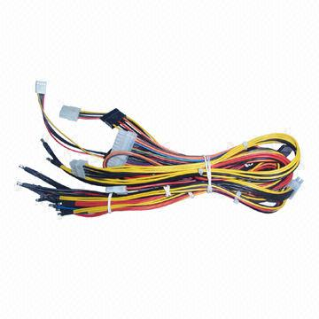 computer host wire harness, 0 to 75�c operating temperature Wire and Cable Harness Assembly