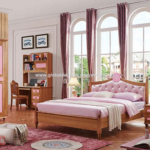 China 2016 wholesale customize children\'s wooden bedroom ...