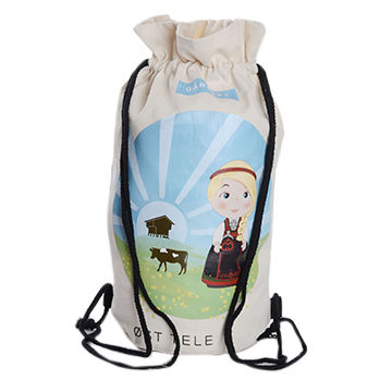 ab6bc6408f2f Cotton drawstring wine bag China Cotton drawstring wine bag