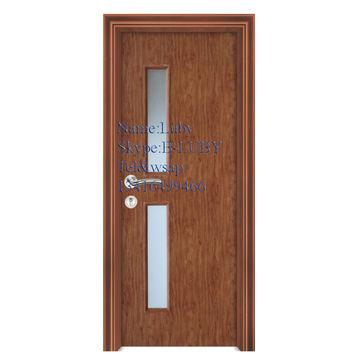 Water Proof Wood Frosted Glass Door Design Bathroom Door Global