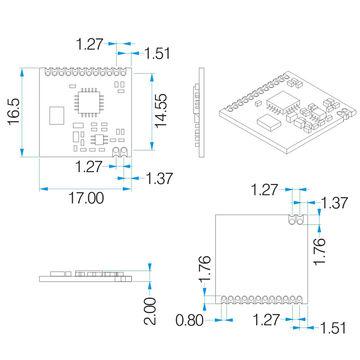 Wireless Transmitter Receiver Module, Low Cost, FSK, 315