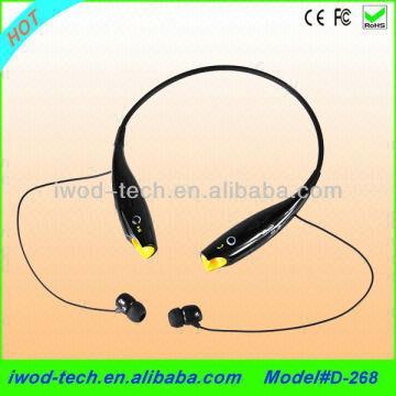 ... China 2013 New Product Lg Tone Hbs-730 Wireless Neckband Bluetooth Headset