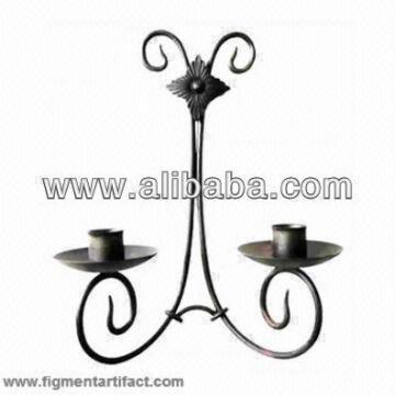 Light India Candelabra Candle Stand Holder Metal Home Decor