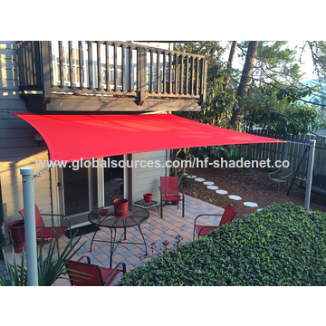 Uv Stabilized Blue Garden Sun Shade Sail Global Sources