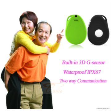 China Personal 3G chip mini GPS tracker with GPS/GSM/GPRS tracking device for Child/Elderly GPS Locator