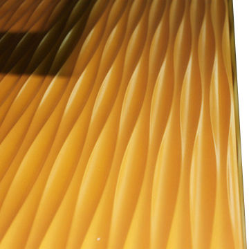 Painted Surface 3D MDF Special Wave Wall Panels | Global Sources