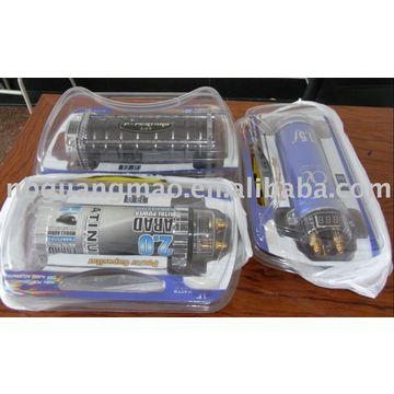 Street Wires Digital 1 Farad Capacitor Car Stereo Cap, Car
