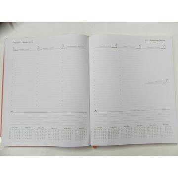 China 2017 Pu Diary Customized Sizes and Designs are accepted