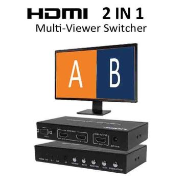 HDMI 2x1 Multi-Viewer with PIP | Global Sources