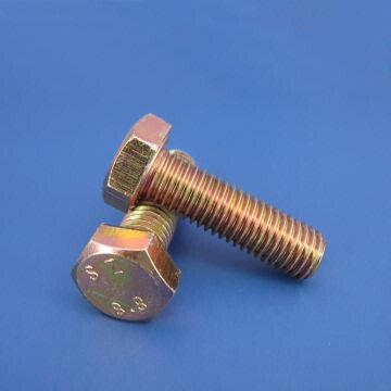 China Hex Head Bolt Din931 Din933 Carbon Steel Stainless Plain Zinc Plated Hot Dip Galvanized
