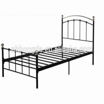 modern style wrought iron bed frames 1.professional QC team 2 ...