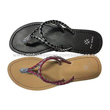 04c14e92111a Women fancy flip flops China Women fancy flip flops