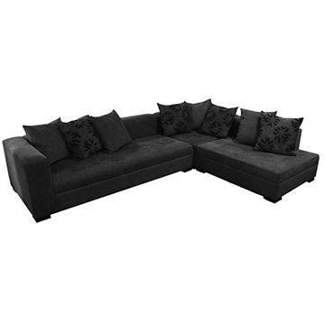 Philippines Ossec Sectional Sofa W Pillows Available In Fabric And Leather Materials
